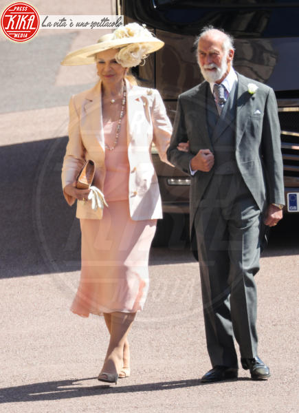 Prince Michael of Kent, Princess Michael of Kent - Windsor - 19-05-2018 - Royal Wedding, gli ospiti: Amal Clooney è in giallo