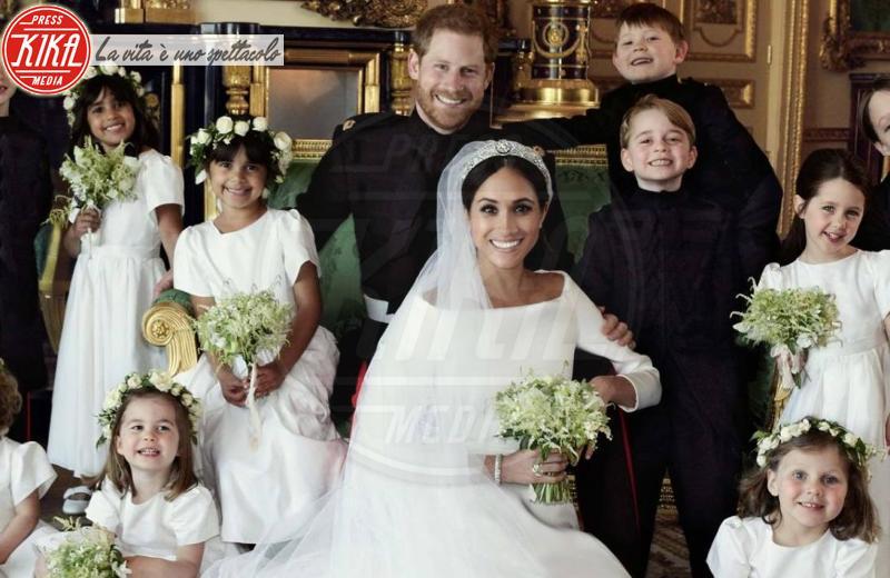 Principessa Charlotte Elizabeth Diana, Principe George, Meghan Markle, Principe Harry - Windsor - 21-05-2018 - Harry e Meghan, il tour nella loro casa vacanze spagnola