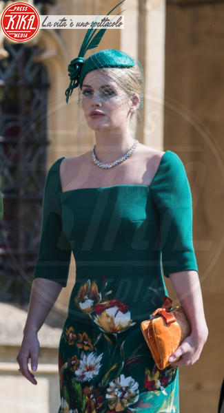 Lady Kitty Spencer - Windsor - 19-05-2018 - Royal Wedding, gli ospiti: Amal Clooney è in giallo