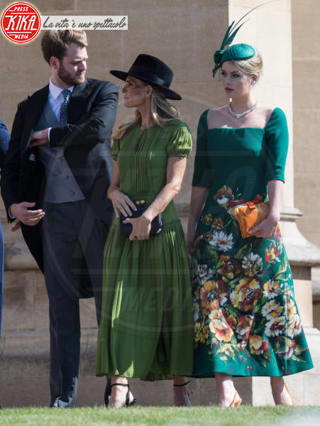 Victoria Aitken, Lady Kitty Spencer - Windsor - 19-05-2018 - Royal Wedding, gli ospiti: Amal Clooney è in giallo