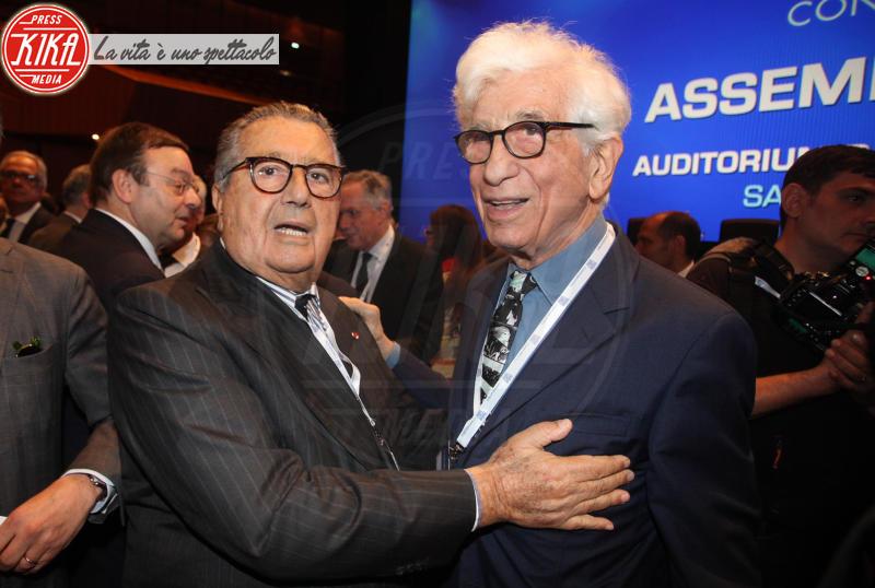 Franco De Benedetti, Carlo De Benedetti - Roma - 23-05-2018 - Boschi, dal Governo al Parlamento (passando per Confindustria)