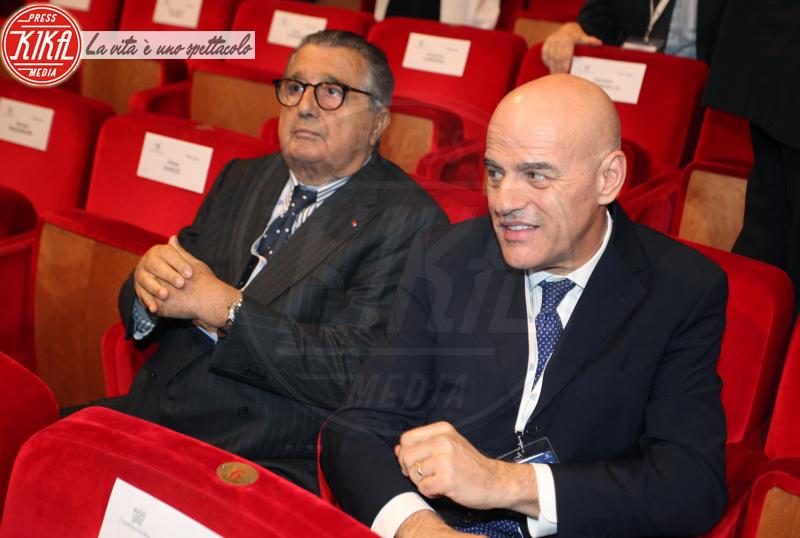 Claudio De Scalzi, Carlo De Benedetti - Roma - 23-05-2018 - Boschi, dal Governo al Parlamento (passando per Confindustria)