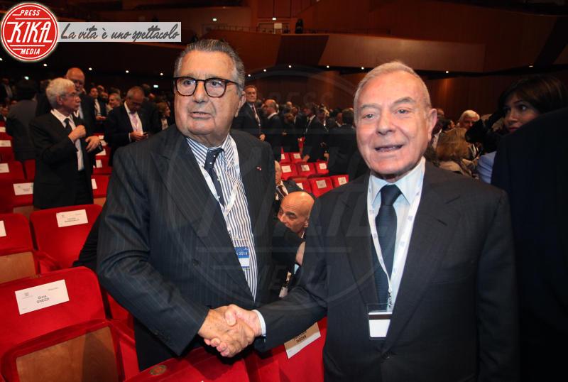Gianni Letta, Carlo De Benedetti - Roma - 23-05-2018 - Boschi, dal Governo al Parlamento (passando per Confindustria)