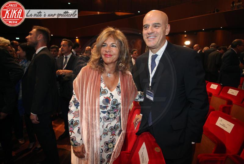 Claudio De Scalzi, Emma Marcegaglia - Roma - 23-05-2018 - Boschi, dal Governo al Parlamento (passando per Confindustria)