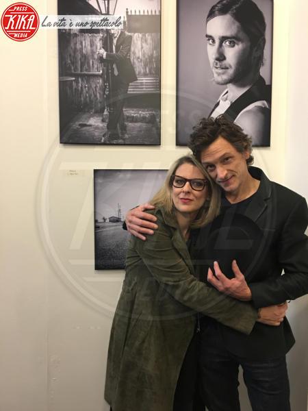 Stefania Rosini, John Hawkes - Los Angeles - 23-05-2018 - Stefania Rosini, dall'Italia a L.A.: