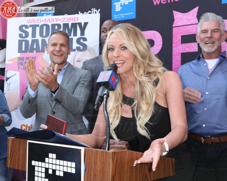 City of West Hollywood (L), Mayor John Duran, Stormy Daniels - Los Angeles - 23-05-2018 - Arrestata Stormy Daniels, la porno star dello scandalo Trump