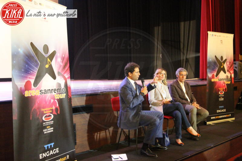 Enrico Griselli, Serena Autieri - Napoli - 24-05-2018 - Serena Autieri porta il Festival di Sanremo in Campania