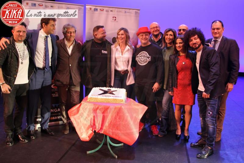Cast, Enrico Griselli, Serena Autieri - Napoli - 24-05-2018 - Serena Autieri porta il Festival di Sanremo in Campania