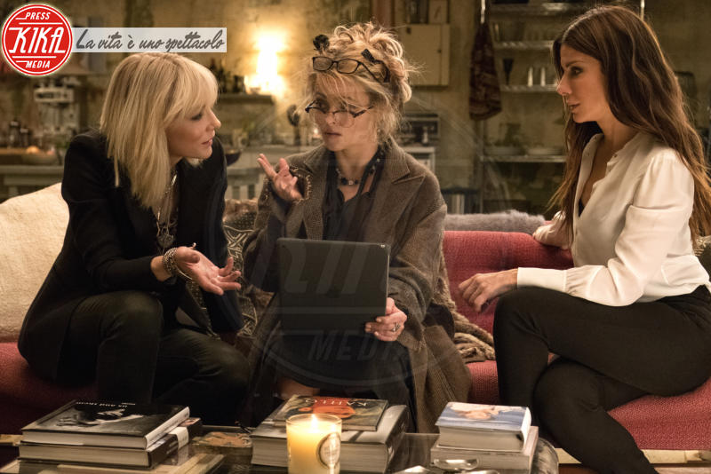 Ocean's Eight, Sarah Paulson, Sandra Bullock, Cate Blanchett - Los Angeles - 01-01-2018 - Ocean's Eight: le    foto   del   film
