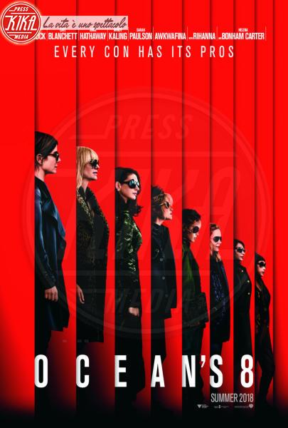 Ocean's Eight, Awkwafina, Locandina, Sarah Paulson, Sandra Bullock, Cate Blanchett - Los Angeles - 01-01-2018 - Ocean's Eight: le    foto   del   film