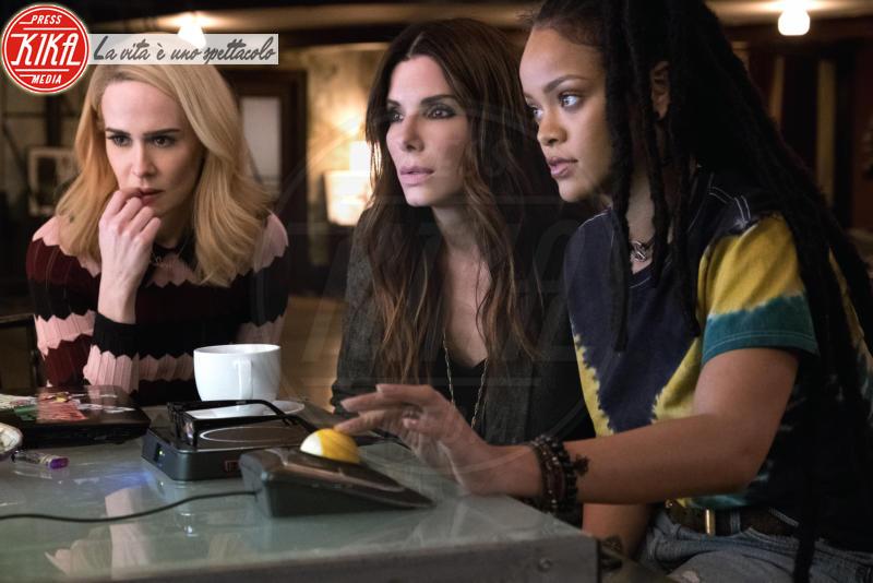 Ocean's Eight, Rihanna, Sarah Paulson, Sandra Bullock - Los Angeles - 01-01-2018 - Ocean's Eight: le    foto   del   film