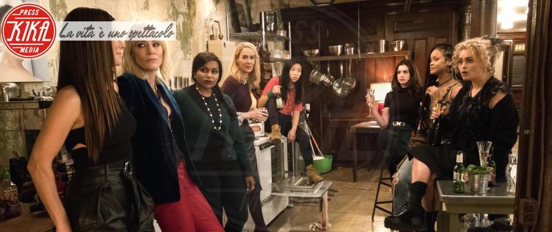 Ocean's Eight, Awkwafina, Sarah Paulson, Sandra Bullock, Cate Blanchett - Los Angeles - 01-01-2018 - Ocean's Eight: le    foto   del   film