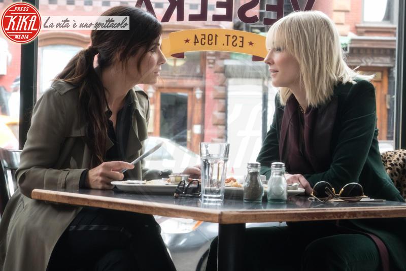 Ocean's Eight, Sandra Bullock, Cate Blanchett - Los Angeles - 01-01-2018 - Ocean's Eight: le    foto   del   film