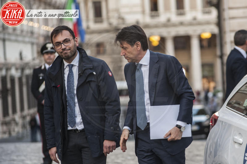 Giuseppe Conte - Roma - 23-05-2018 - Il nuovo premier? Giuseppe Conte arriva in taxi!