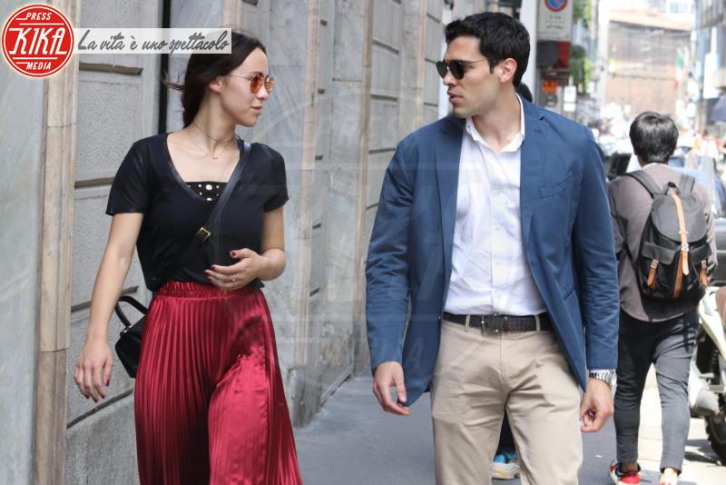 Goffredo Cerza, Aurora Ramazzotti - Milano - 25-05-2018 - Aurora Ramazzotti, i 'limoni'? Meglio l'amore di Goffredo