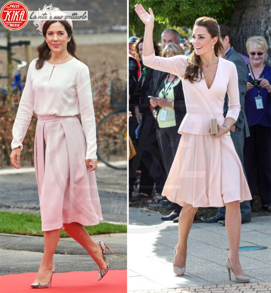Principessa Mary di Danimarca, Kate Middleton - 28-05-2018 - Kate Middleton e Mary di Danimarca, lo stile è lo stesso