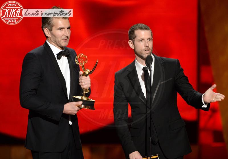 D.B. Weiss, David Benioff - Los Angeles - 20-09-2015 - Emilia Clarke: