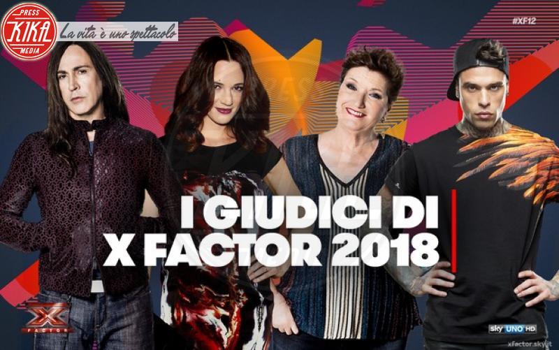 Fedez, Mara Maionchi, Manuel Agnelli, Asia Argento - 29-05-2018 - X Factor 12, ecco la squadra: il giudice più imprevedibile? Lei