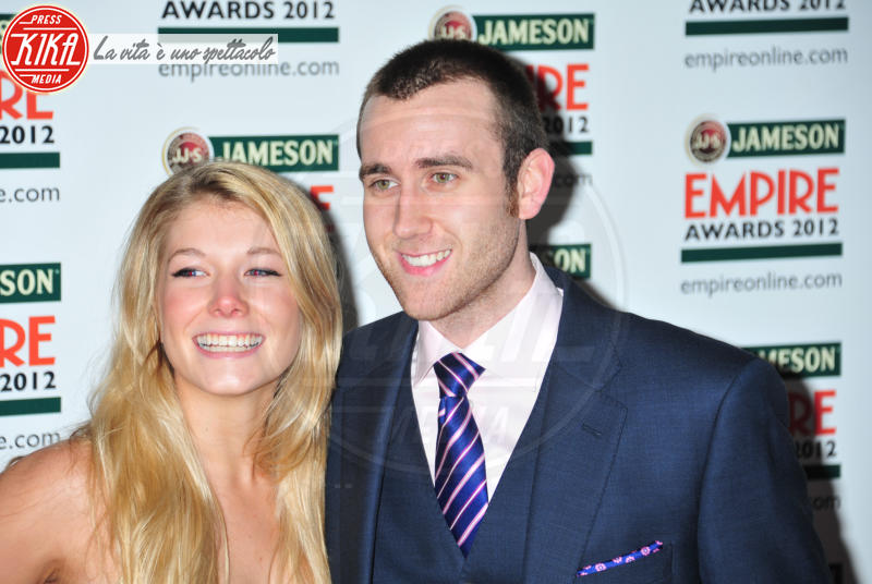 Angela Jones, Matthew Lewis - Londra - 25-03-2012 - Harry Potter: l'interprete di Neville si è sposato in Italia