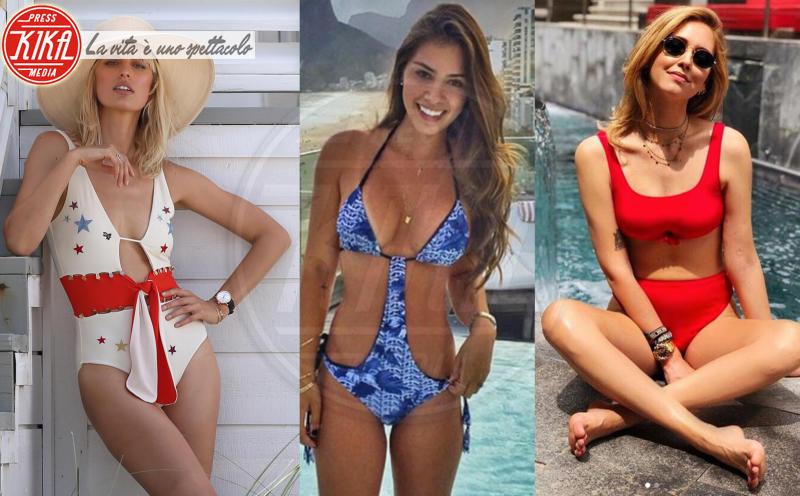 Gabriella Lenzi, Chiara Ferragni, Karolina Kurkova - 30-05-2018 - Estate 2018: Bikini, trikini, intero, qual è il costume per te?