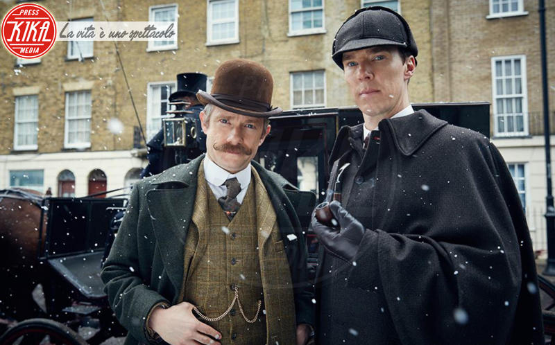 Benedict Cumberbatch, Martin Freeman - Los Angeles - 08-01-2016 - Elementare Watson! Benedict Cumberbatch sventa una rapina
