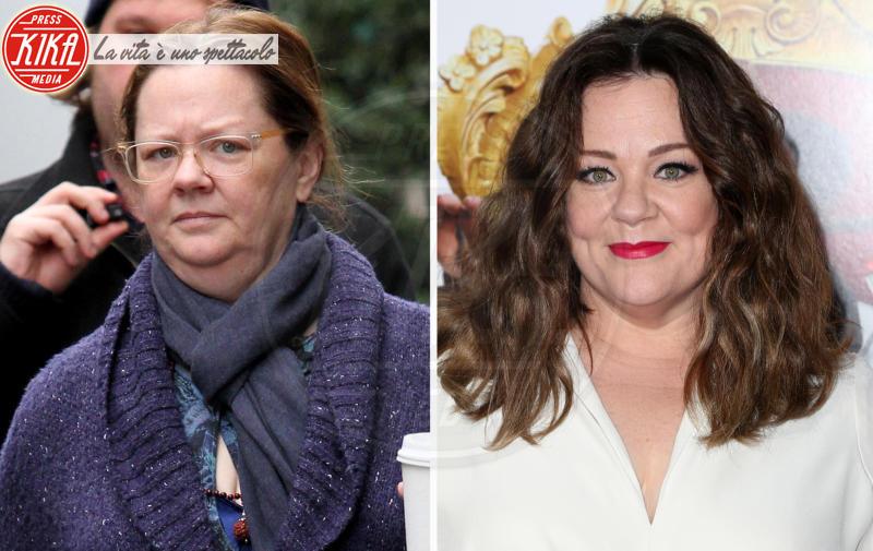 Melissa McCarthy - 04-06-2018 - Star prima e dopo, il miracolo del make up