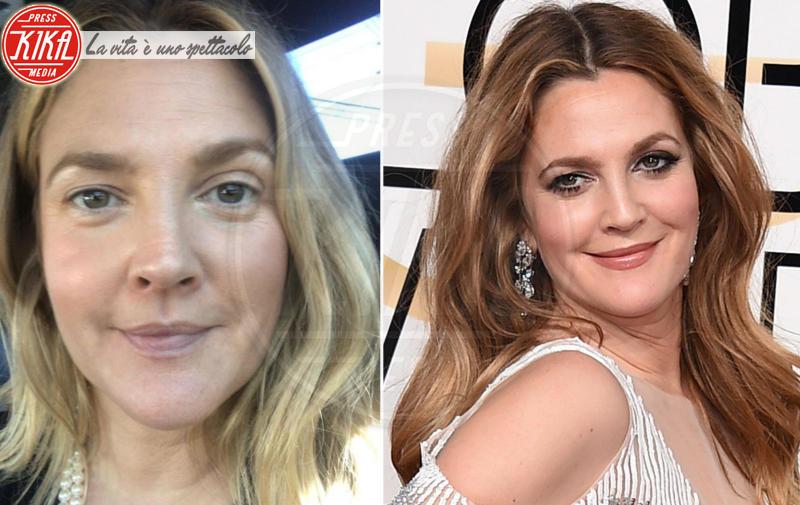 Drew Barrymore - 04-06-2018 - Star prima e dopo, il miracolo del make up