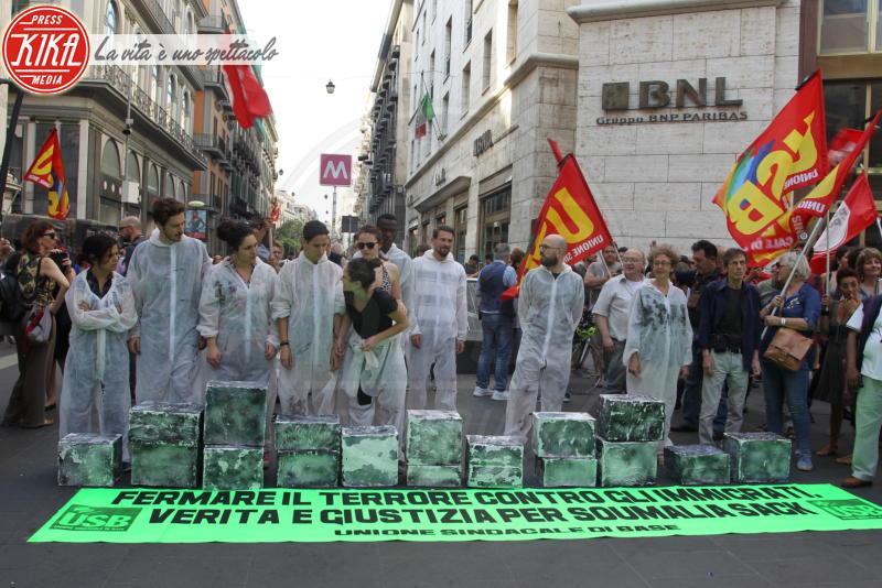 Manifestazione per Soumalia Sacko - Napoli - 04-06-2018 - Napoli in piazza per ricordare il maliano ucciso in Calabria