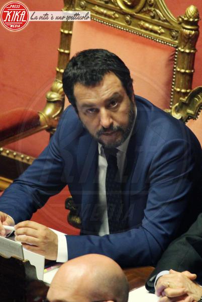 Matteo Salvini - Roma - 05-06-2018 - Emma in lacrime risponde agli insulti:
