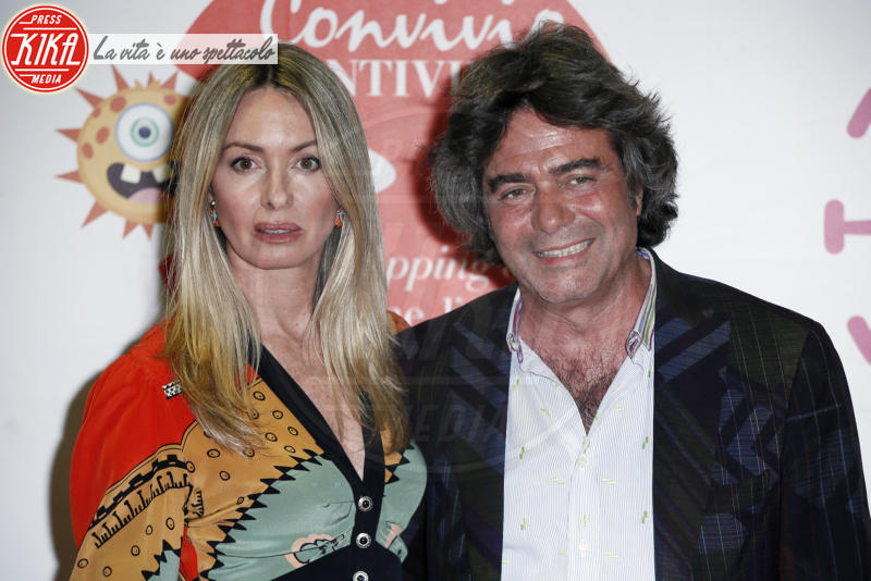 Costanza Etro, Kean Etro - Milano - 05-06-2018 - Convivio 2018: Palmas-Magnini, una coppia al bacio