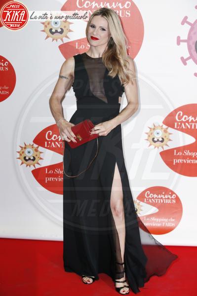 Michelle Hunziker - Milano - 05-06-2018 - Convivio 2018: Palmas-Magnini, una coppia al bacio