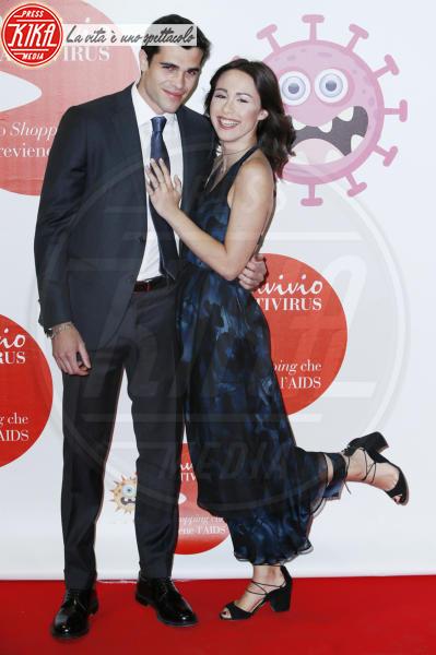 Goffredo Cerza, Aurora Ramazzotti - Milano - 05-06-2018 - Convivio 2018: Palmas-Magnini, una coppia al bacio