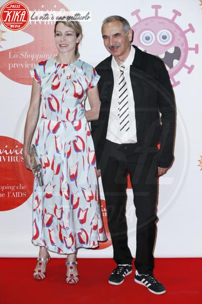 Carlo Capasa, Stefania Rocca - Milano - 05-06-2018 - Convivio 2018: Palmas-Magnini, una coppia al bacio