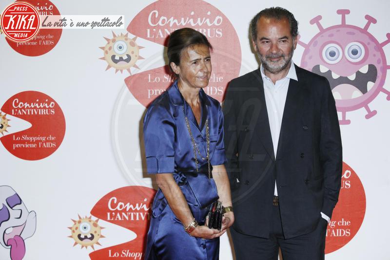 Anna Imponente, Remo Ruffini - Milano - 05-06-2018 - Convivio 2018: Palmas-Magnini, una coppia al bacio