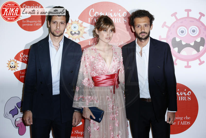 Romeo Ruffini, Pietro Ruffini - Milano - 05-06-2018 - Convivio 2018: Palmas-Magnini, una coppia al bacio