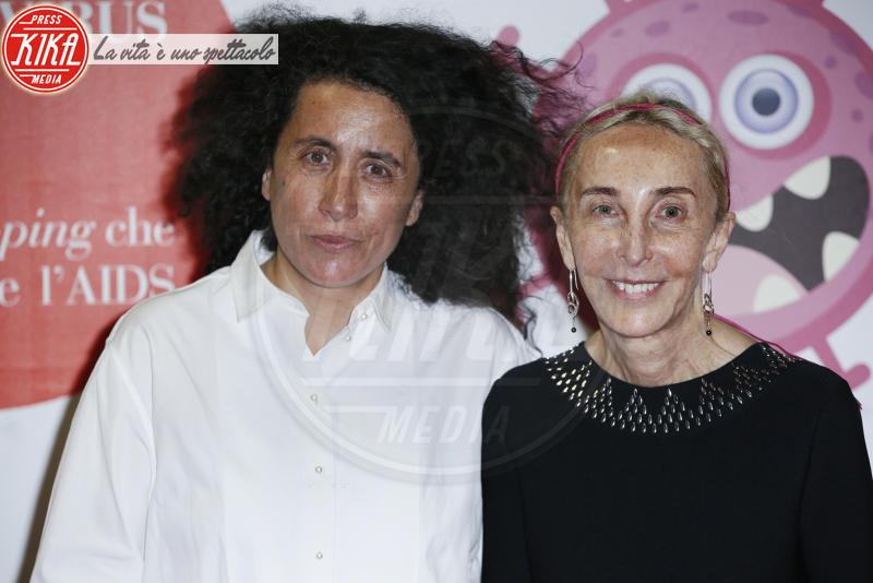 Franca Sozzani - Milano - 05-06-2018 - Convivio 2018: Palmas-Magnini, una coppia al bacio