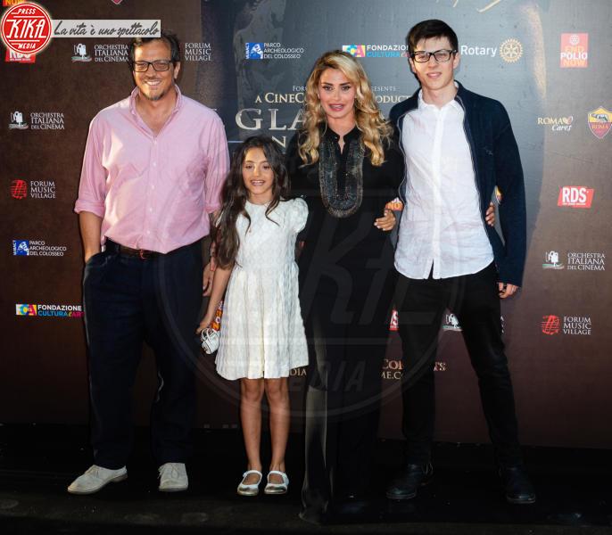 Angelica Russo, Gabriele Muccino - Roma - 06-06-2018 - Russell Crowe giallorosso: Il Gladiatore incontra Totti