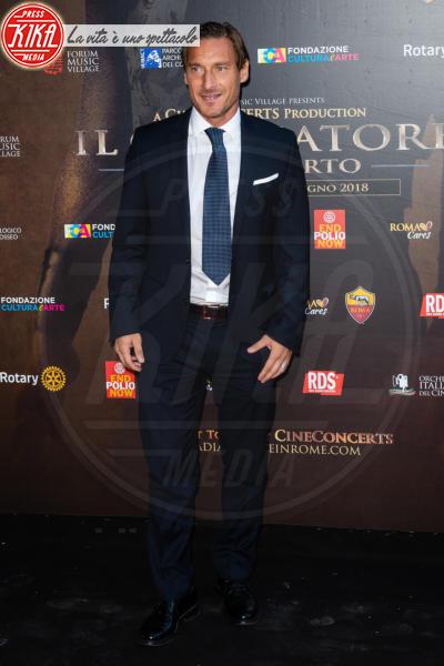 Francesco Totti - Roma - 06-06-2018 - Russell Crowe giallorosso: Il Gladiatore incontra Totti