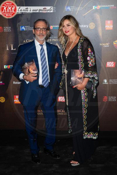 Giada Desideri, Luca Ward - Roma - 06-06-2018 - Russell Crowe giallorosso: Il Gladiatore incontra Totti