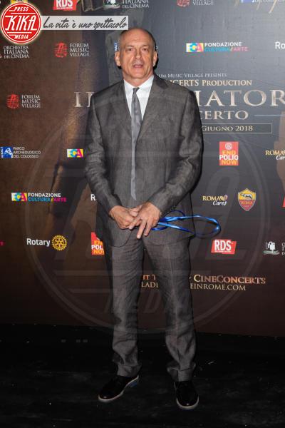 Tomas Arana - Roma - 06-06-2018 - Russell Crowe giallorosso: Il Gladiatore incontra Totti