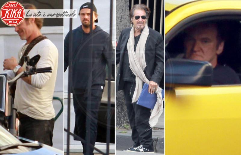 Al Pacino, Quentin Tarantino, Leonardo DiCaprio, Brad Pitt - Los Angeles - 08-06-2018 - Da Brad Pitt a DiCaprio: quante stelle alla corte di Tarantino
