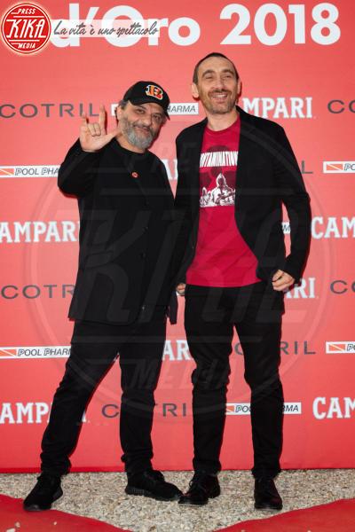Marco Manetti, Antonio Manetti - Roma - 07-06-2018 - Ciak d'Oro, trionfano Ammore e Malavita e Chiamami col tuo nome