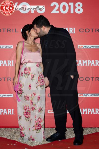 Paola Rossi, Salvatore Esposito - Roma - 07-06-2018 - Ciak d'Oro, trionfano Ammore e Malavita e Chiamami col tuo nome