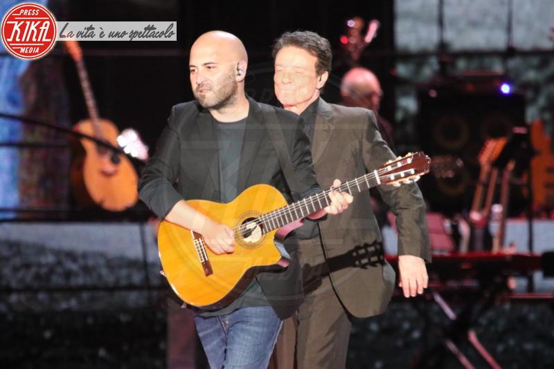 Giuliano Sangiorgi, Massimo Ranieri - Napoli - 07-06-2018 - Pino è, la musica italiana si riunisce a Napoli per Pino Daniele