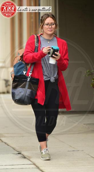 Hilary Duff - Los Angeles - 12-05-2018 - Fiocco rosa per Hilary Duff: l'attrice aspetta una bimba