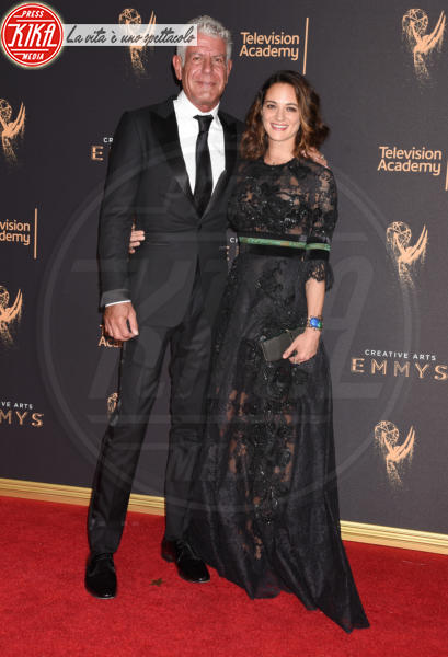 Anthony Bourdain, Asia Argento - Los Angeles - 09-09-2017 - Creative Arts Emmy, Anthony Bourdain vince due premi postumi