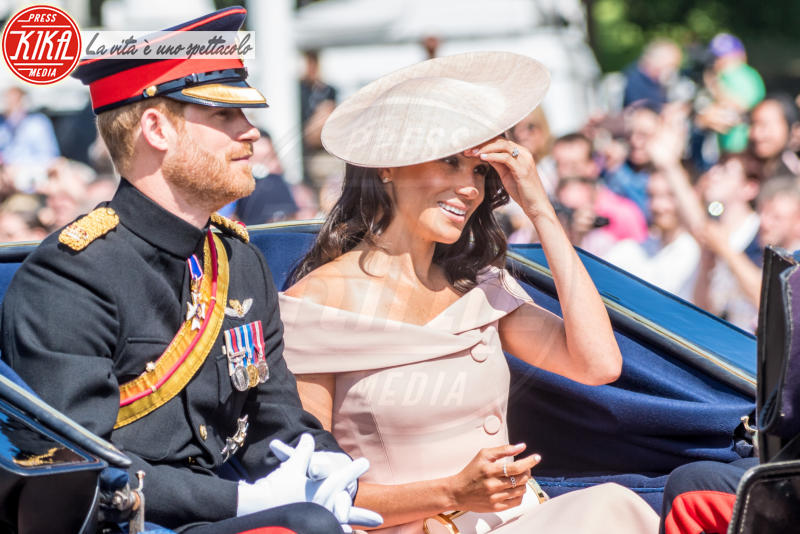 Meghan Markle, Trooping The Colour, Principe Harry - Londra - 09-06-2018 -