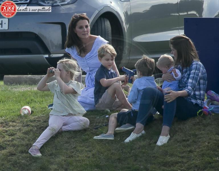 Principessa Charlotte Elizabeth Diana, Principe George, Kate Middleton - 10-06-2018 - Kate, George e Charlotte: quando la principessa è solo una mamma