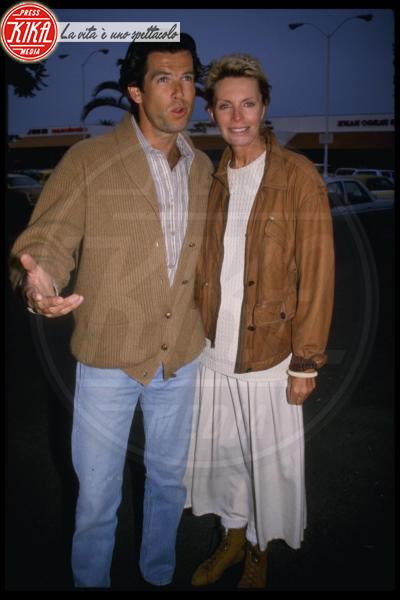 Cassandra Brosnan, Pierce Brosnan - Los Angeles - 27-12-1989 - Le star che non sapevi fossero rimaste vedove da giovani