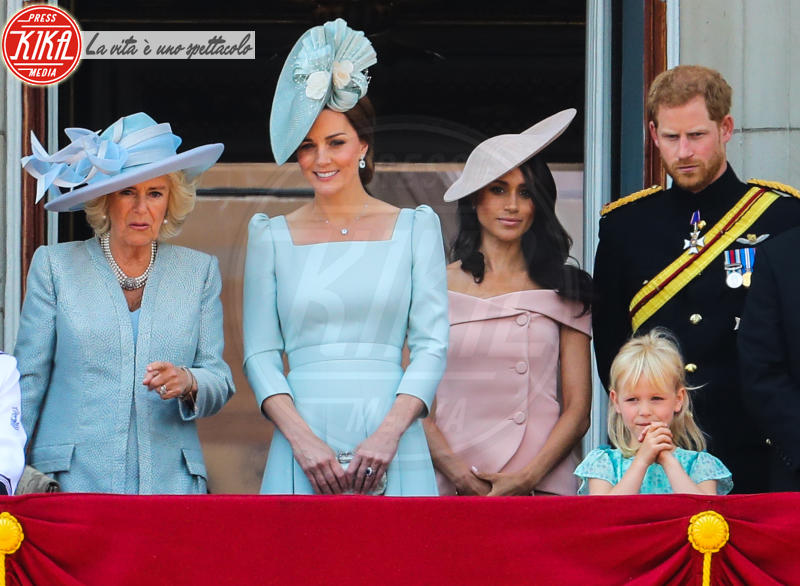 Camilla duchessa di Cornovaglia, Meghan Markle, Kate Middleton, Principe Harry - Londra - 09-06-2018 -